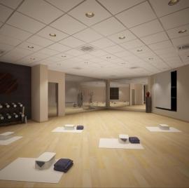 дизайн проект студии йоги
