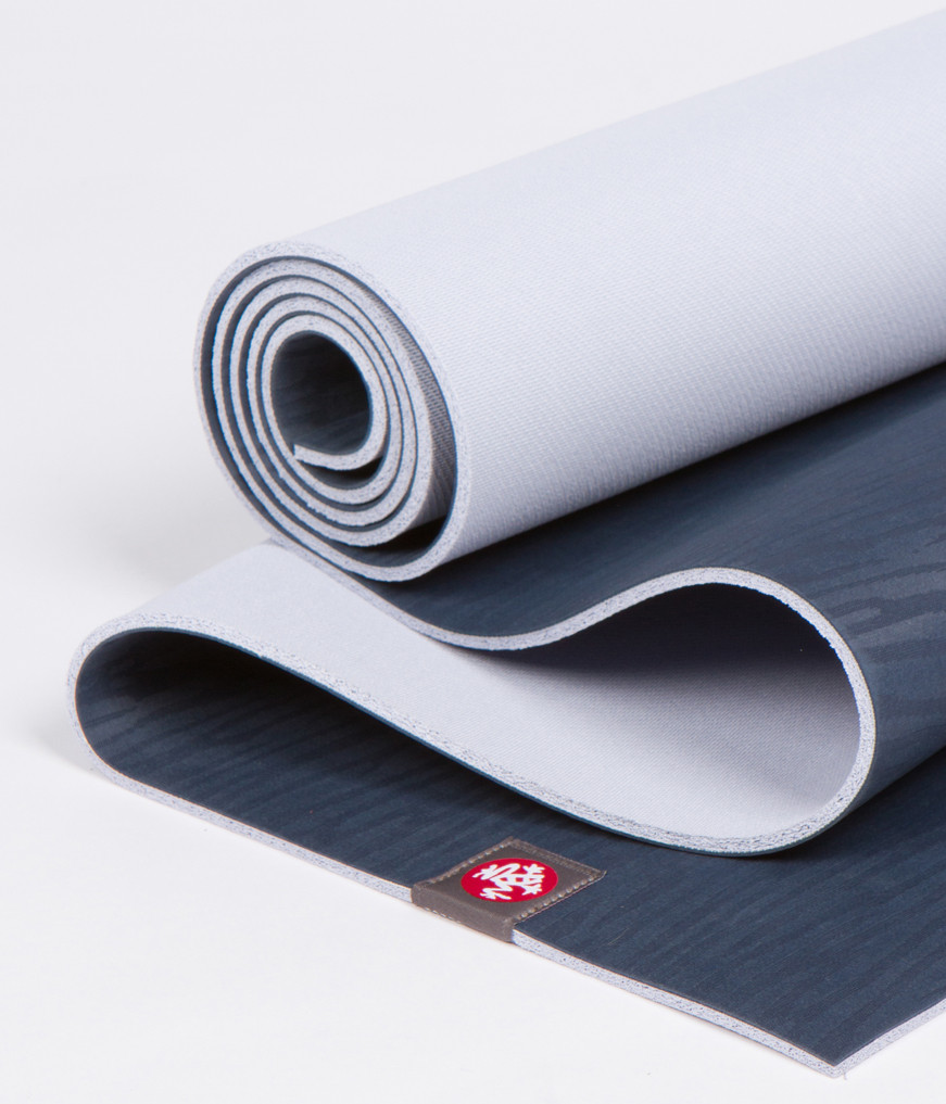 Коврик для йоги Manduka EKO Mat 5мм из каучука (3 кг, 180 см, 5 мм, темно-синий, 66см (Midnight))