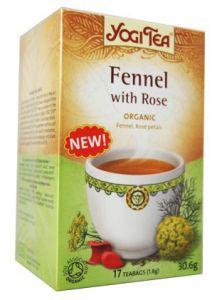 ���� ��� ������� � ����\Yogi Tea Fennel with Rose