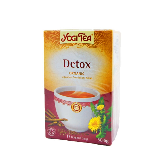 Йога чай Очищающий чай \Yogi Tea Detox