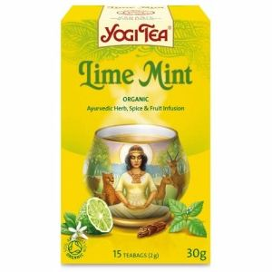 ���� ��� ����� � ����\Yogi Tea Lime Mint