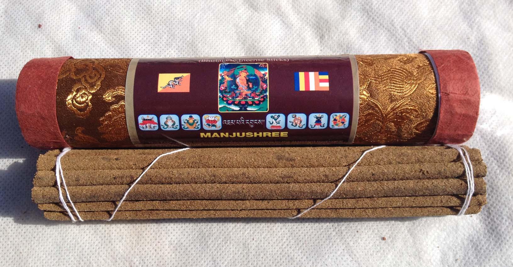 Благовония бутанские манжушри manjushree в тубусе 21шт (коричневый) благовония бутанские дзамбала zambala в тубусе 21шт