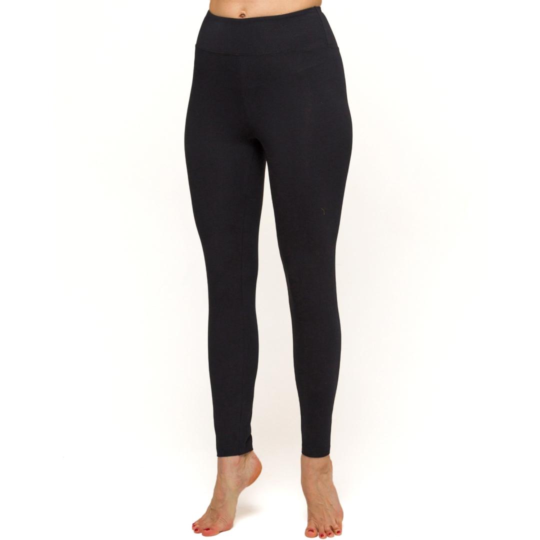 Леггинсы женские Sansara черные YogaDress (0,2 кг, S (44), черный)