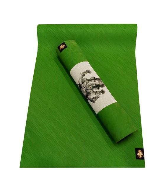 Коврик для йоги Варуна PRO (4 кг, 200 см, 4 мм, зеленый, 66см)