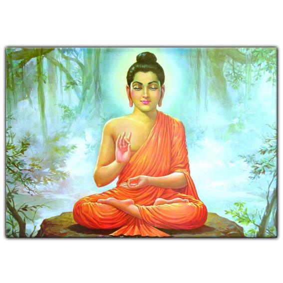 Магнит Будда, винил (MI004 0,05 кг)