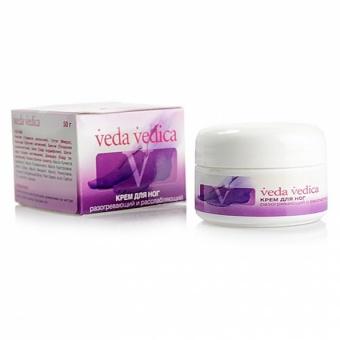 Крем для ног разогревающий и расслабляющий Veda Vedica. (50 г) крем ночная защита veda vedica 50 г