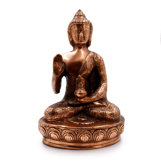 Статуэтка Будда медицины силумин 29 см (1.3 кг, 30 см)