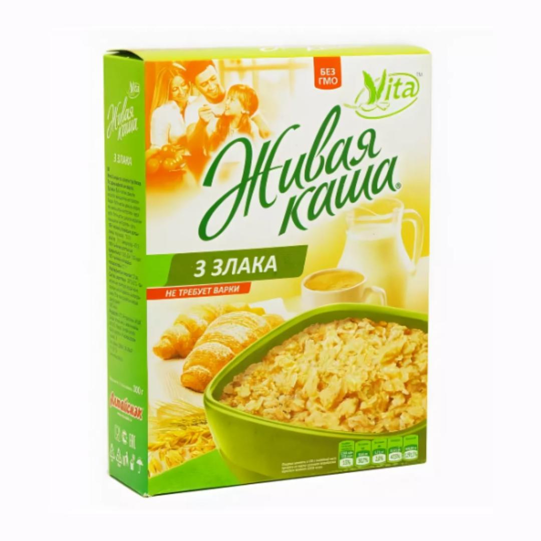 Живая каша 3 злака Vita (0,3 кг)