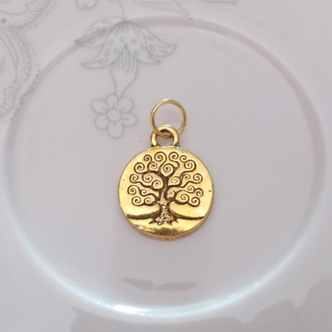 Подвеска Древо Жизни малое для браслетов набор браслетов дерево жизни 3 шт