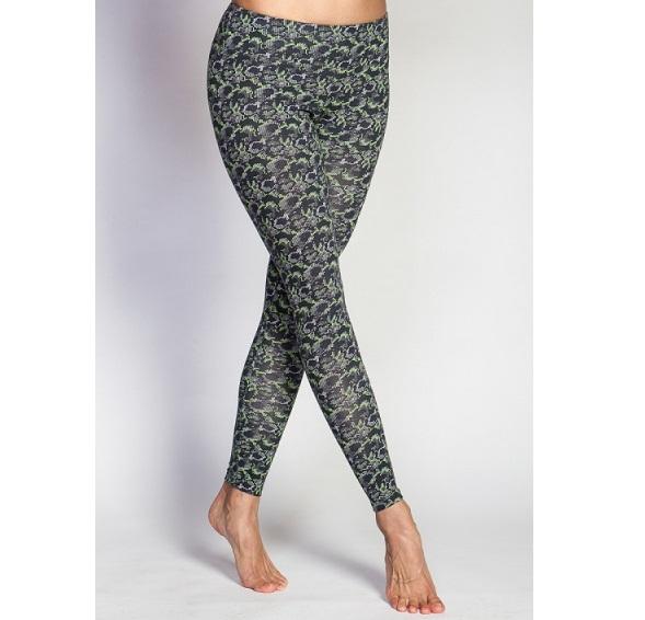 Леггинсы Фиджи , зеленые YogaDress (M(46))