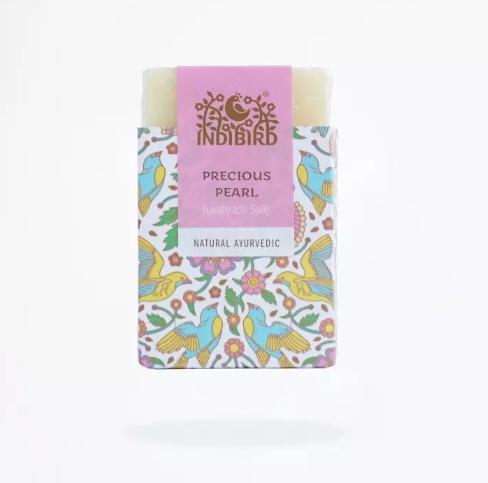 купить Аюрведическое мыло драгоценный жемчуг Indibird (100 г) онлайн