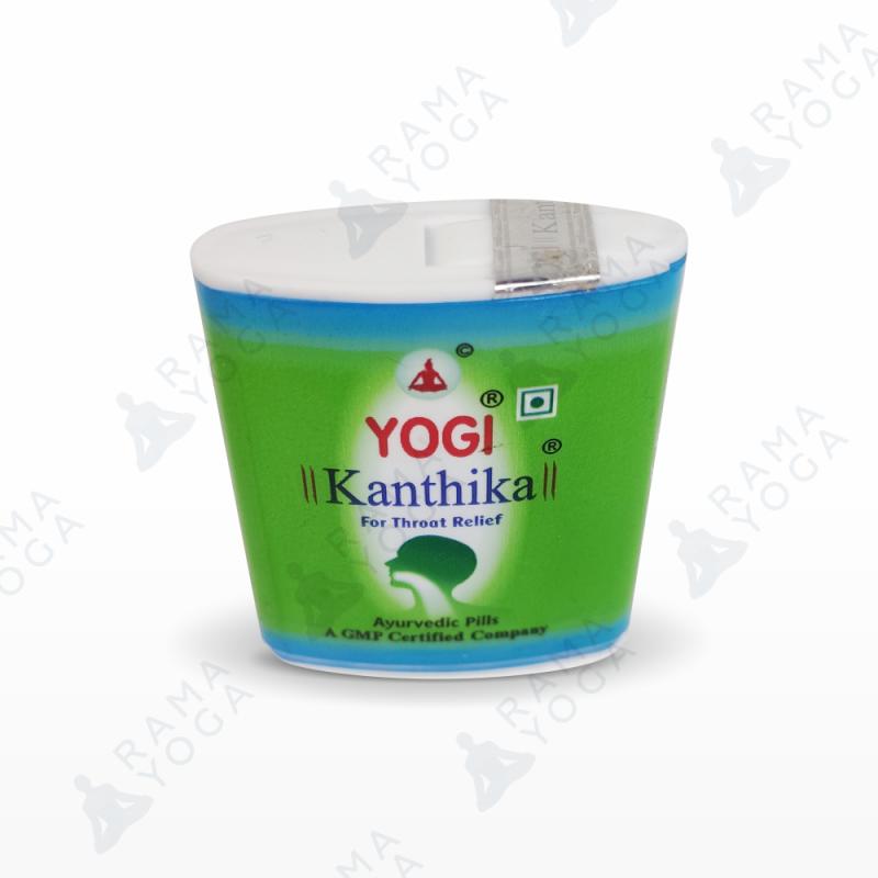 Драже Йоги Кантика от боли в горле / Dragee Kanthika Yogi (140 шт)