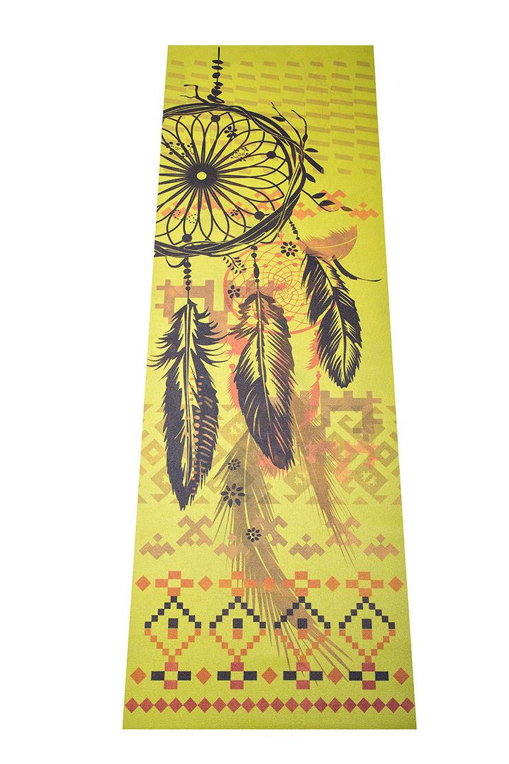 Коврик для йоги Аризона (1.2 кг, 185 см, 3 мм, зеленый, 60см) цена