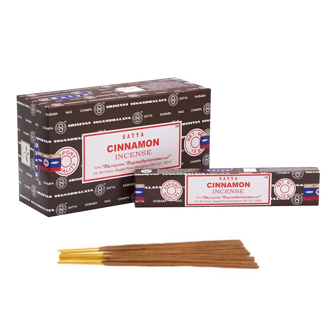 Благовония Корица Сатья серия incense / Cinnamon Satya (15 г) благовония аджаро сатья аjaro satya 45 г