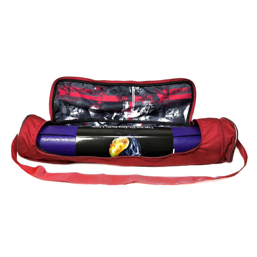Чехол для коврика Torba Yoga Bag (0,3 кг, красный)