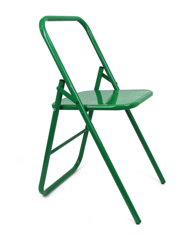Стул для занятий йогой разной высоты (7 кг, 41 см, зеленый)