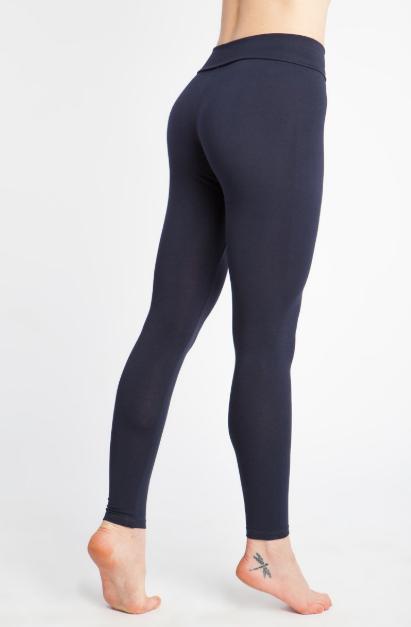 лосины женские длинные yogadress 0 3 кг xl 50 красный клюквенный Лосины женские длинные YogaDress (0,3 кг, XS (42), синий / синий меланж)
