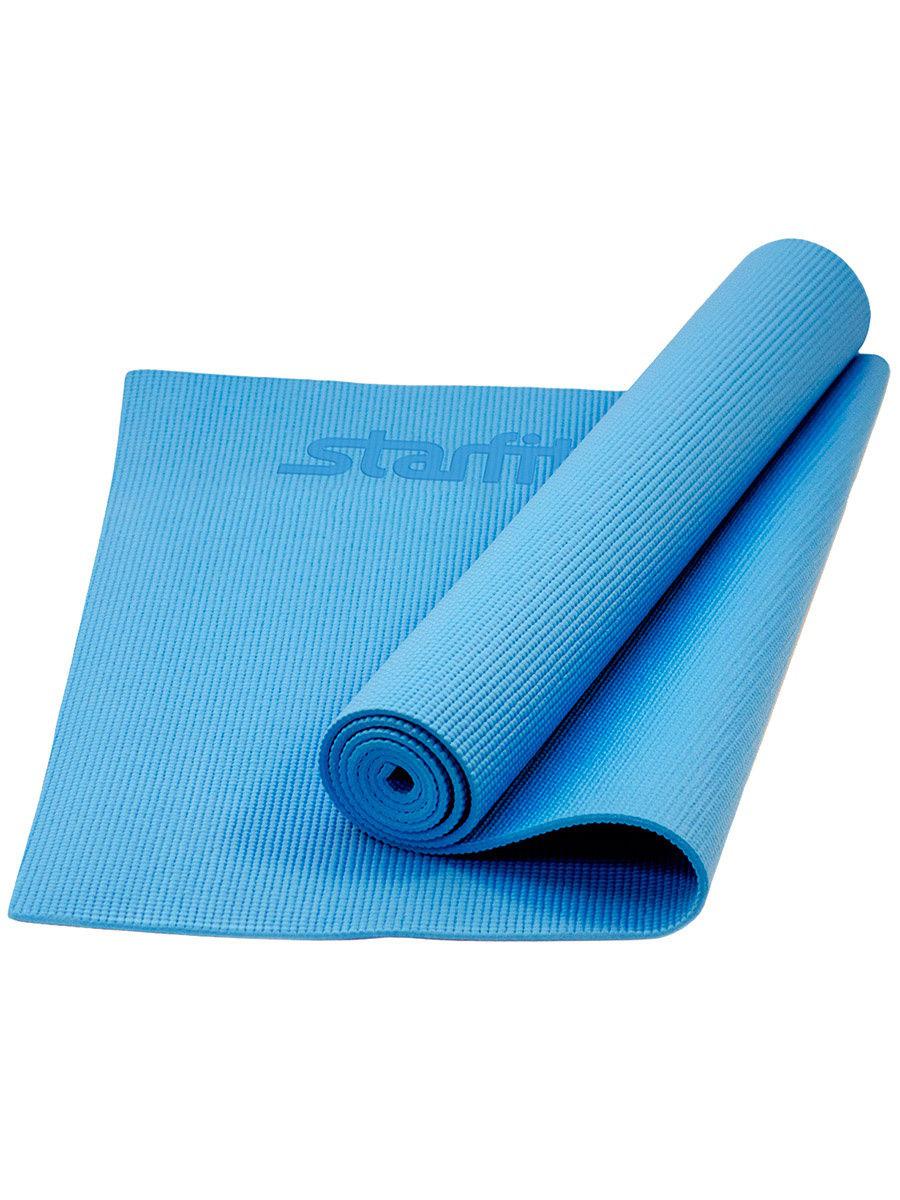 Коврик для йоги Yoga Star 8мм (173 см, 8 мм, синий, 60 см)