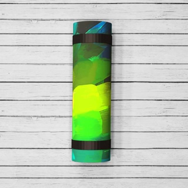 Коврик для йоги Pinecone ID из микрофибры и каучука (2.5 кг, 173 см, 3 мм, зеленый, 60 см) коврик для йоги green 4мм 0 8 кг 173 см 4 мм зеленый 60 см