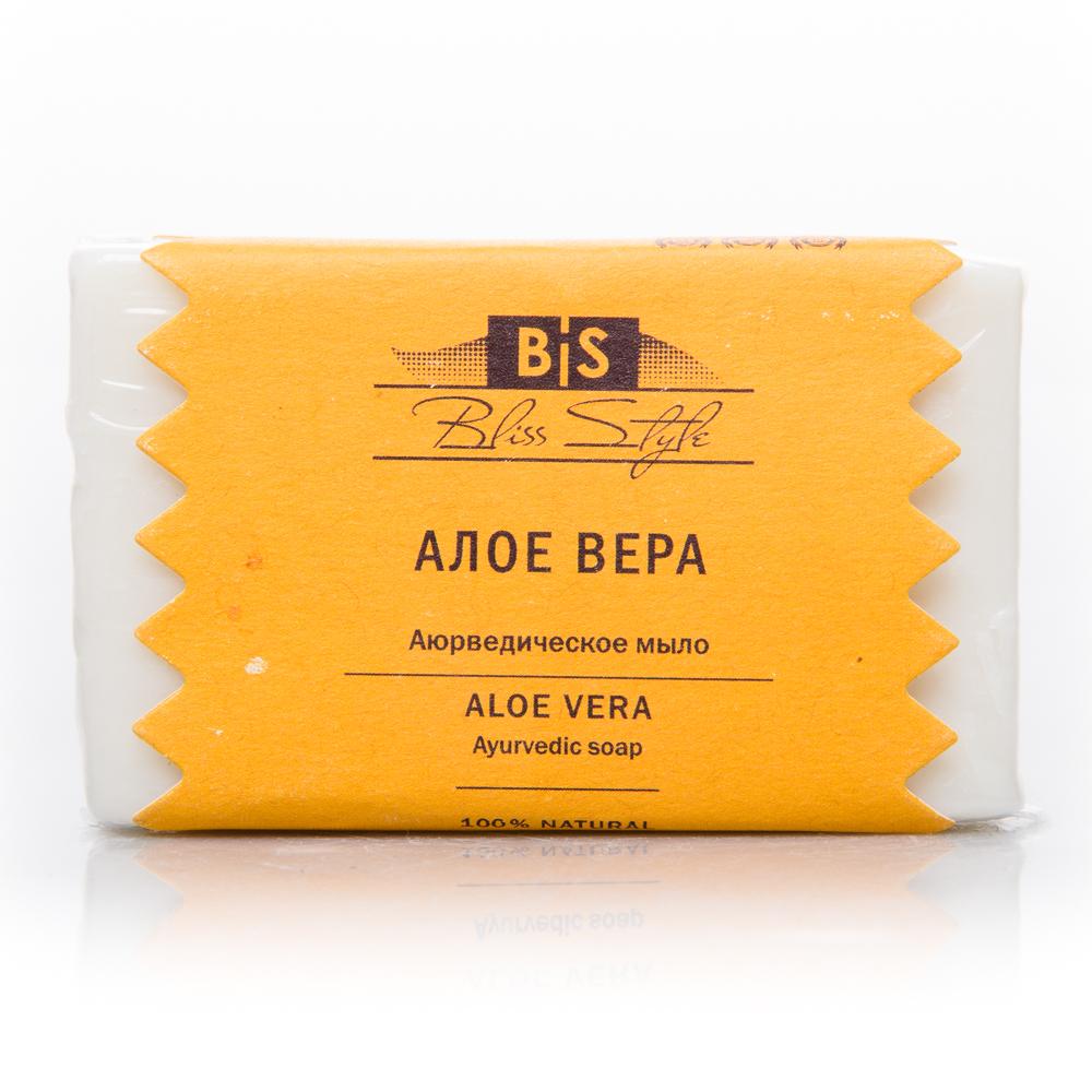 Аюрведическое мыло алоэ вера Bliss Style ( Bliss Style 100 г ) аюрведическое средство от простуды и ангины dabur madhuvaani honitus 150 г