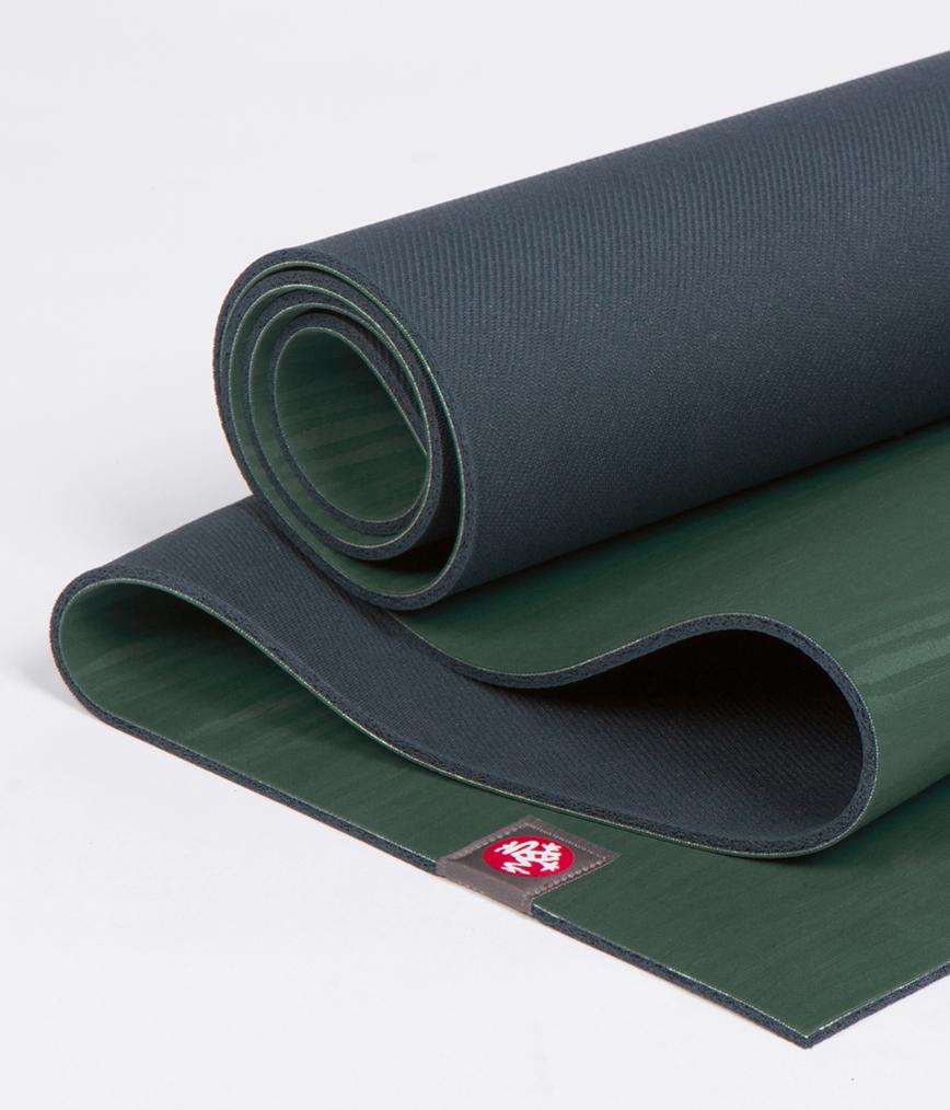 Коврик для йоги Manduka EKO Lite Mat 4мм из каучука (2,2 кг, 180 см, 4 мм, зеленый, 61см (Sage))