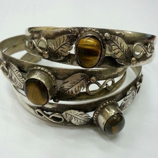 Браслет узкий фигурный с 1 камнем Листик браслеты indira браслет с камнем sattva