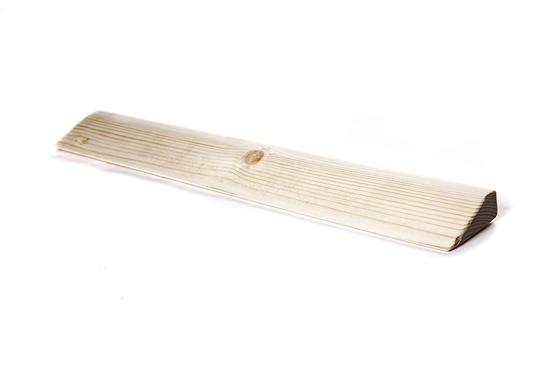 Планка деревянная шлифованная (2,5 см, 60 см, 11 см)