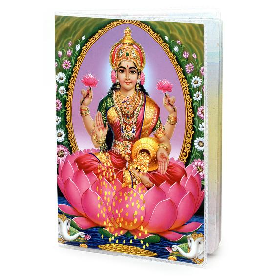 Обложка для паспорта Лакшми, ПВХ (MOB017) обложка для паспорта лакшми пвх mob017