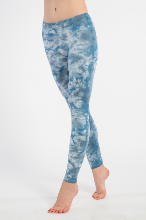 Леггинсы женские флэш синие YogaDress (L(48))