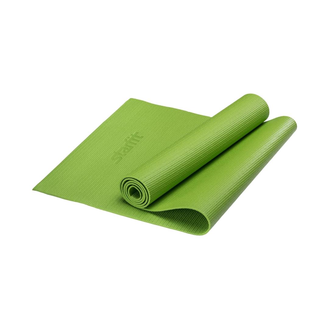 Коврик для йоги Yoga Star 8мм (173 см, 8 мм, зеленый, 60 см)