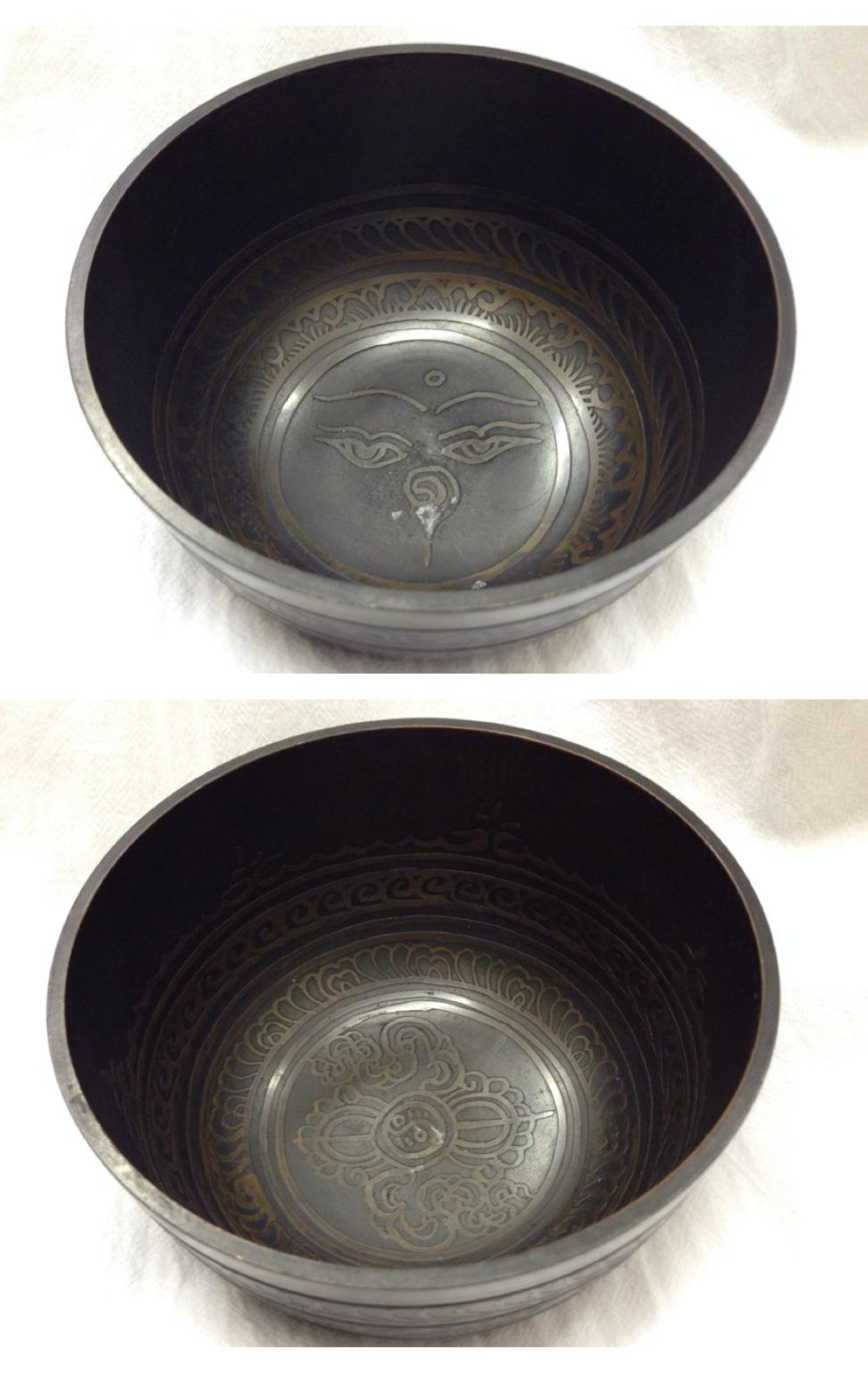 Чаша поющая медицинская бронзовая 11,5см  (MDSB05)