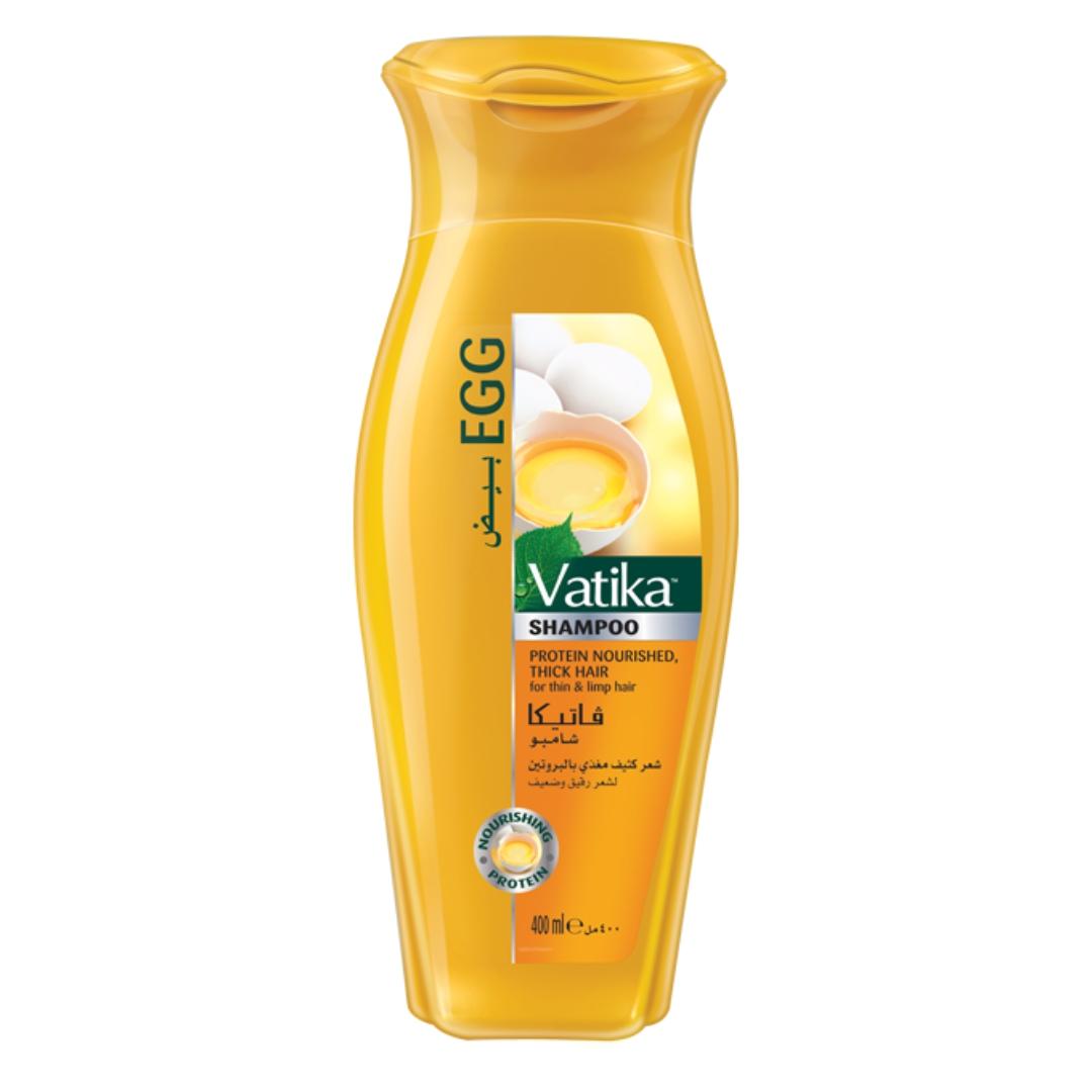 Шампунь яичный Dabur Vatika (200 мл) кондиционер увлажняющий контроль впотери волос vatika naturals hair fall control dabur
