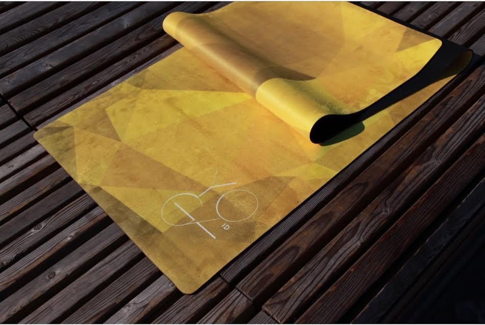 Коврик для йоги Africa ID из микрофибры и каучука