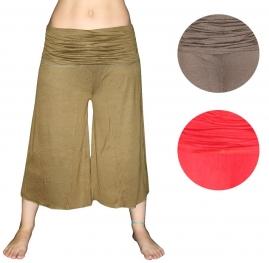 Штаны-гаремы для йоги трикотаж