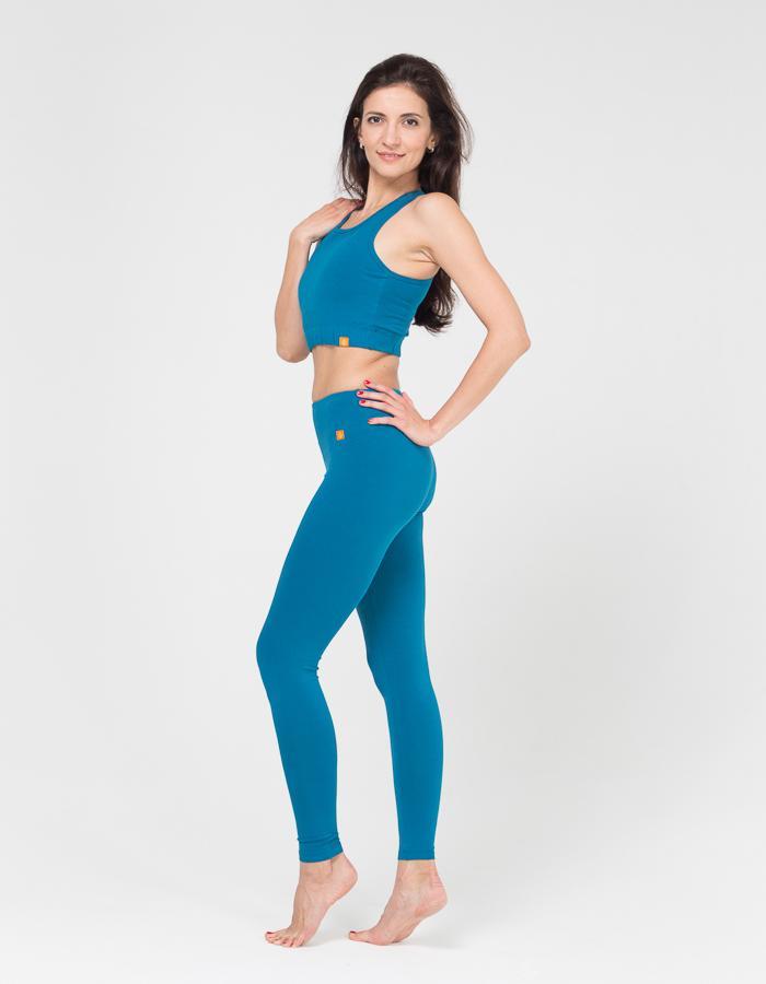 Женские тайтсы Miss Incredible YogaDress (0,3 кг, XL (48-50), голубой  морская волна)