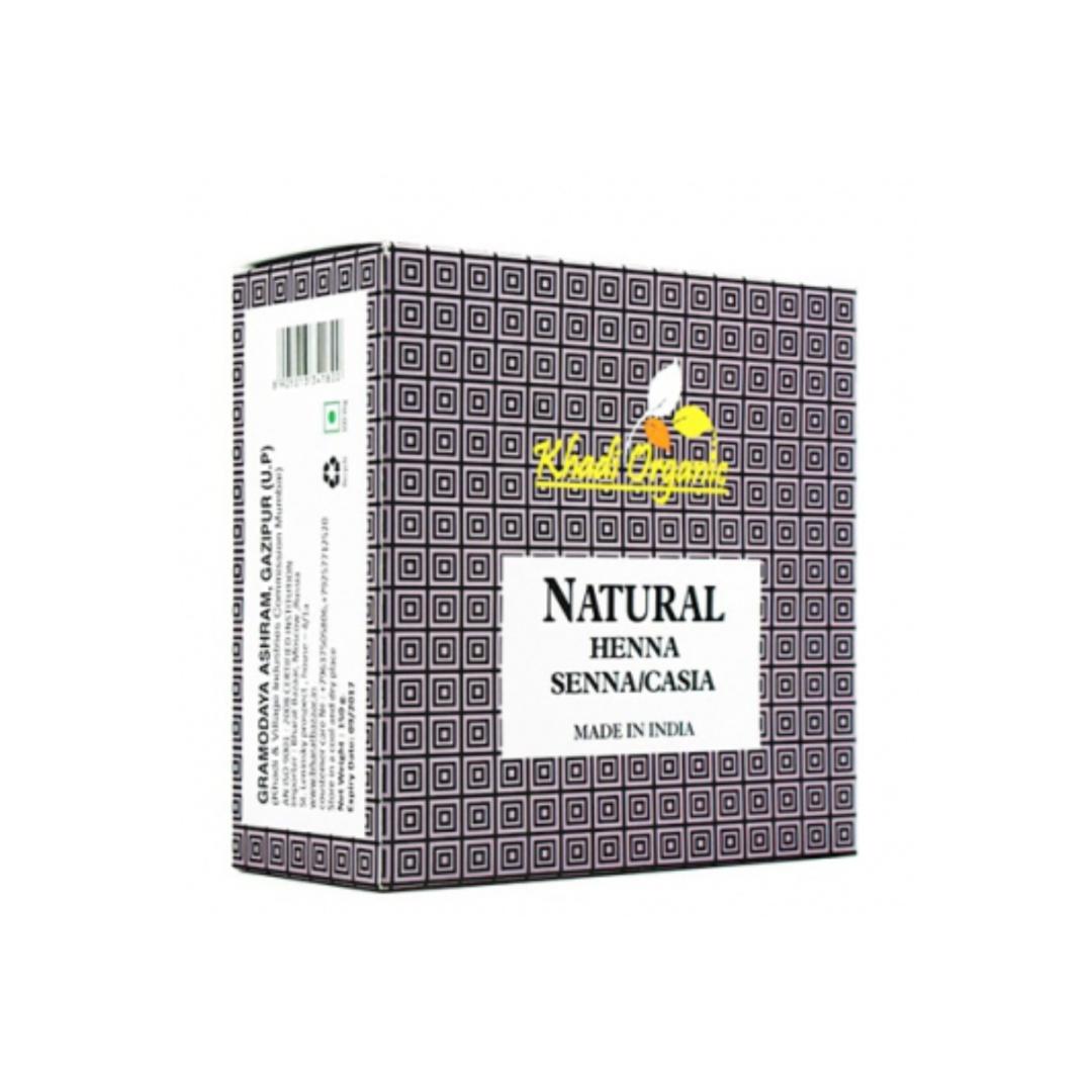 Хна бесцветная натуральная для укрепления волос Khadi Organic (150 г)