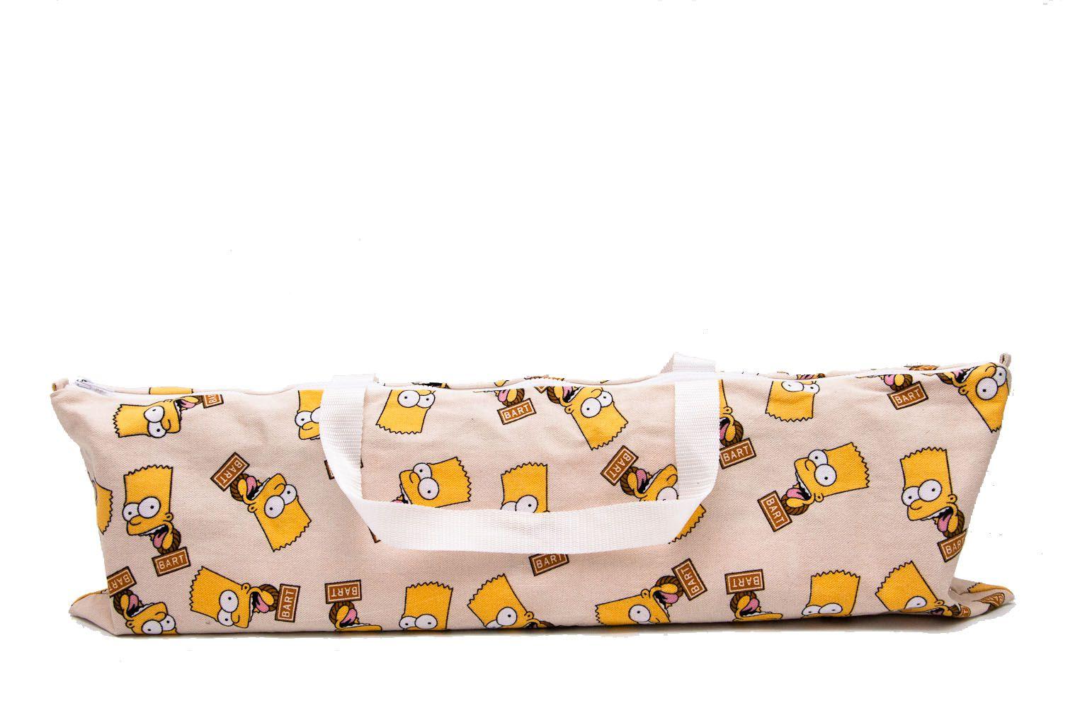 Сумка для йога-коврика «The Simpsons» 65 см (65 см, белый)