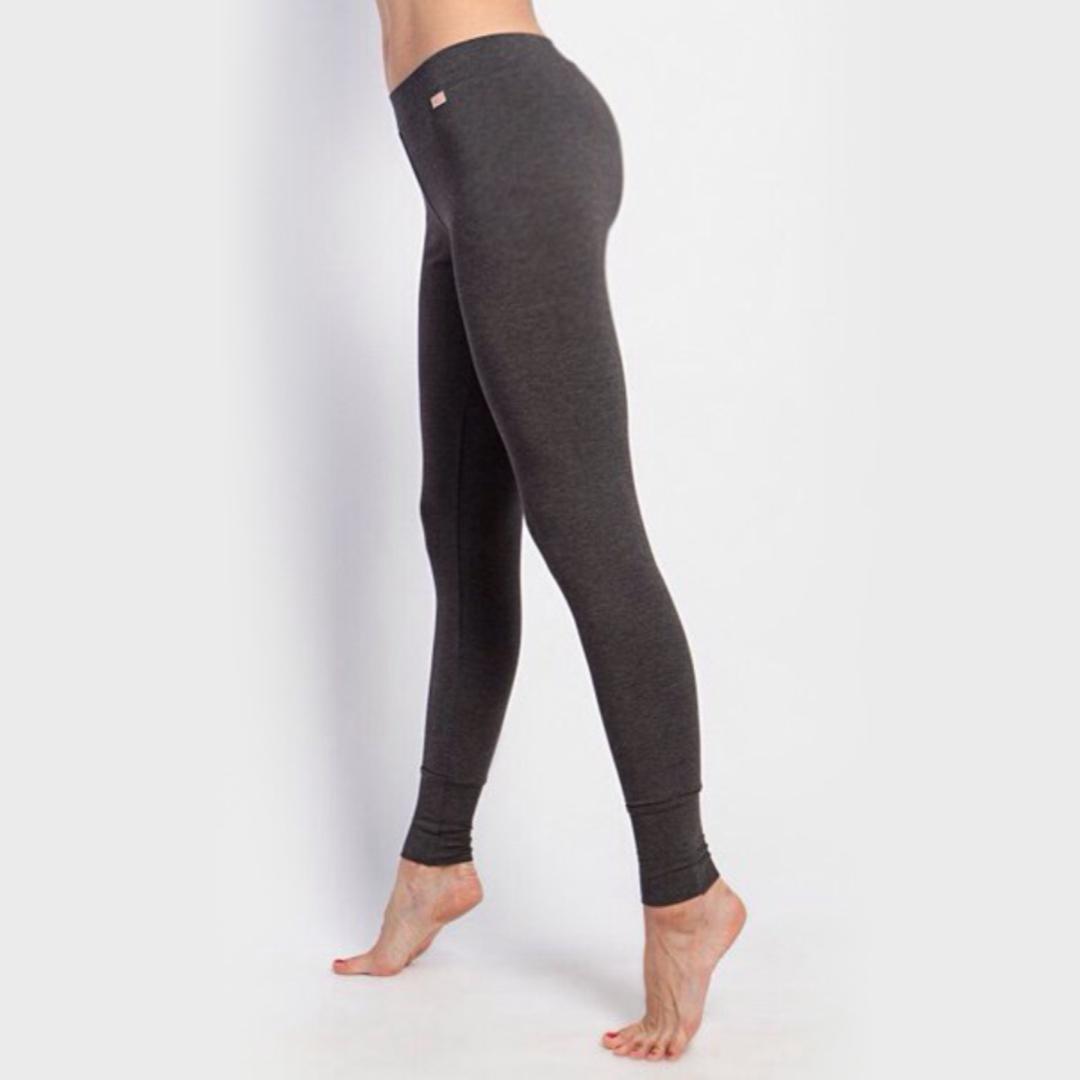 Штаны женские Бали антрацит-меланж Yogadress ( YogaDress 46 ) штаны прямые женские rip curl baleare pant polignac purple