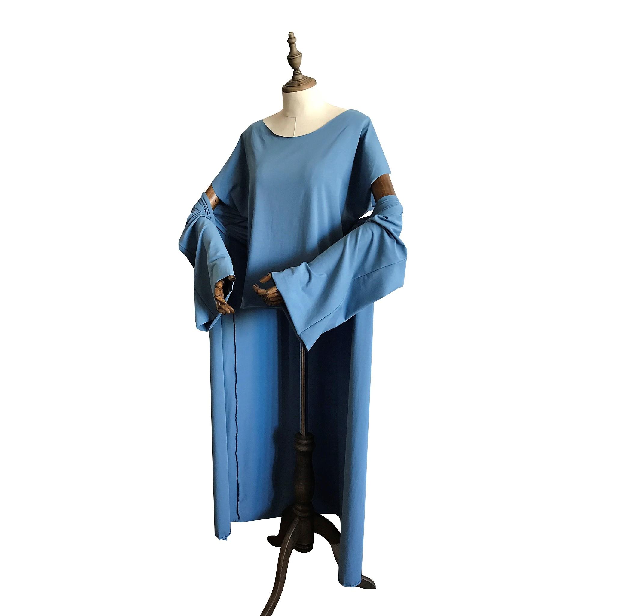 Накидка кимоно Рамайога (0,3 кг, OS (42-46), голубой)