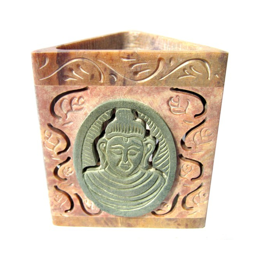 Аромалампа каменная будда 8.5 см (SOB7270) аромалампа каменная ваза с солнцем 7 5х9 5см sob7260 0 3 кг