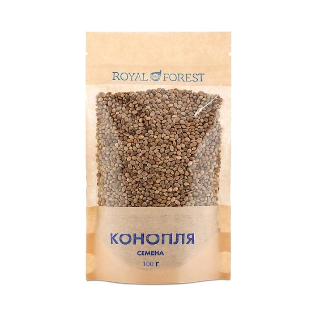 Семена конопли неочищенные Royal Forest (100 г)