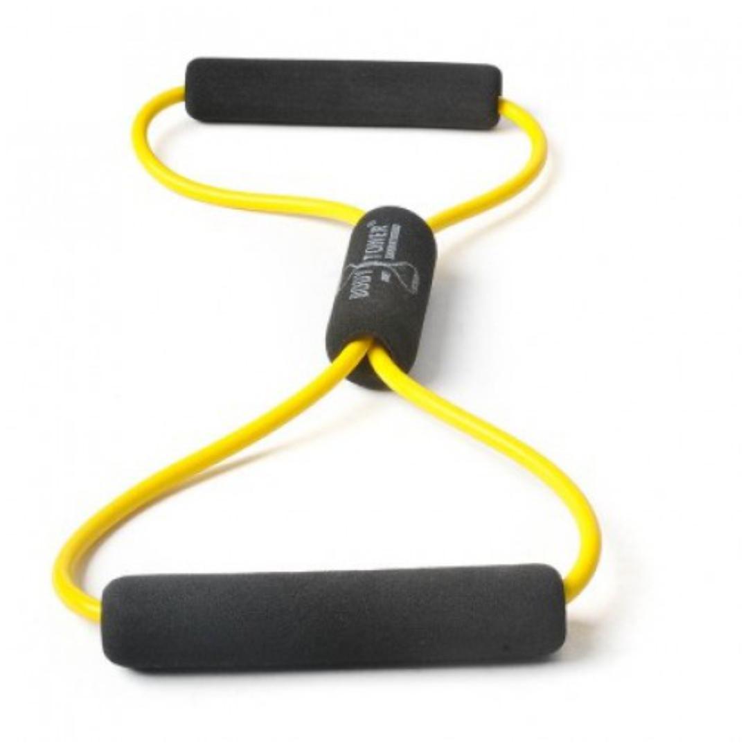 Амортизатор минимальное сопротивление, вocьмepкa Body-Toner DITTMANN, желтый (желтый,минимальное сопротивление) цена