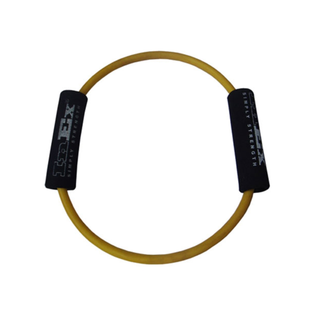 Амортизатор трубчатый кольцо Body-Ring INEX (Very Light (минимальное сопротивление), желтый) амортизатор минимальное сопротивление вocьмepкa body toner dittmann желтый желтый минимальное сопротивление