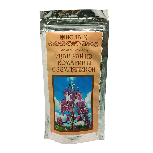 Иван-чай с земляникой заварной, 75 г иван бунин жизнь арсеньева