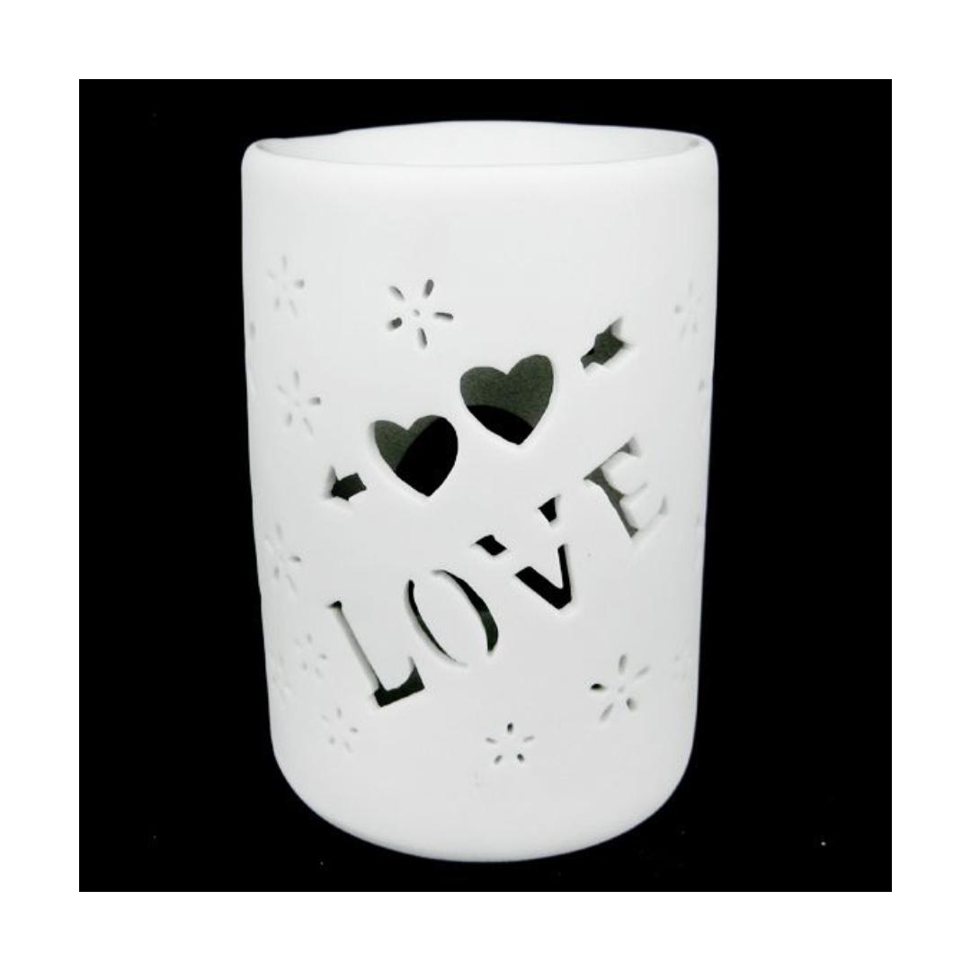 цена Аромалампа керамическая Love 12 см (0,1 кг) онлайн в 2017 году