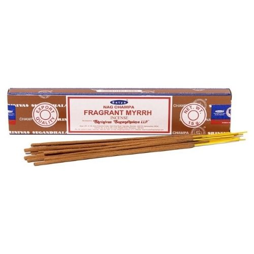 Благовония Ароматная Мирра Сатья серия incense / Fragrant Myrrh Satya (15 г)