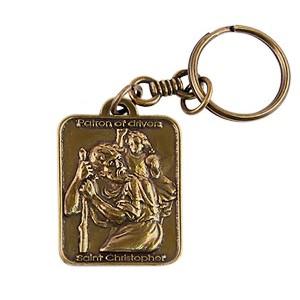 Амулет святой Христофор подвеска на ремень victorinox multiclip с карабином и кольцом для ключей металлическая 1102514