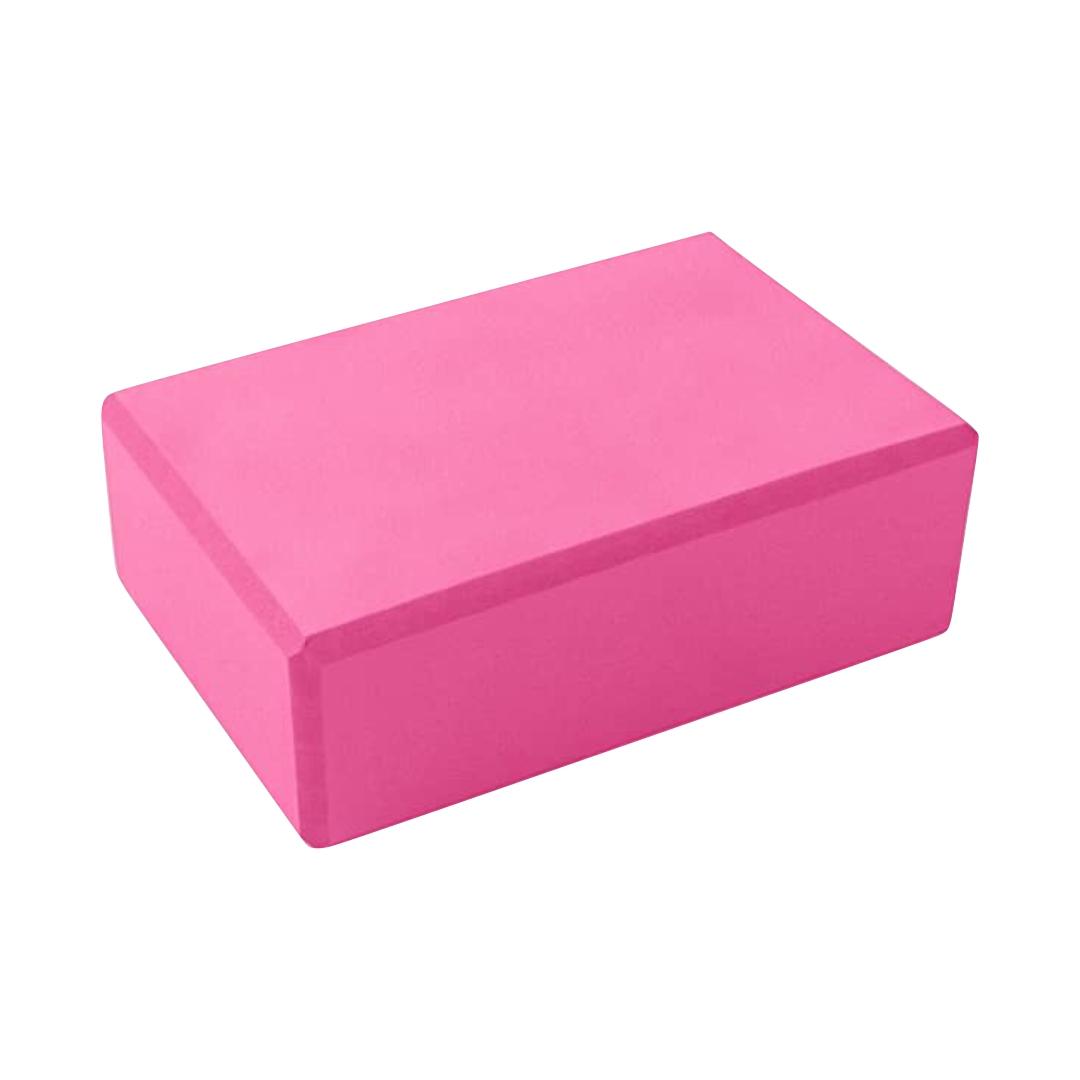 Кирпич для йоги из пены Рамайога (0,45 кг, 8 см, 23 см, розовый, 15 см) кирпич для йоги из eva пены yoga brick 7 см 22 см красный 11 см