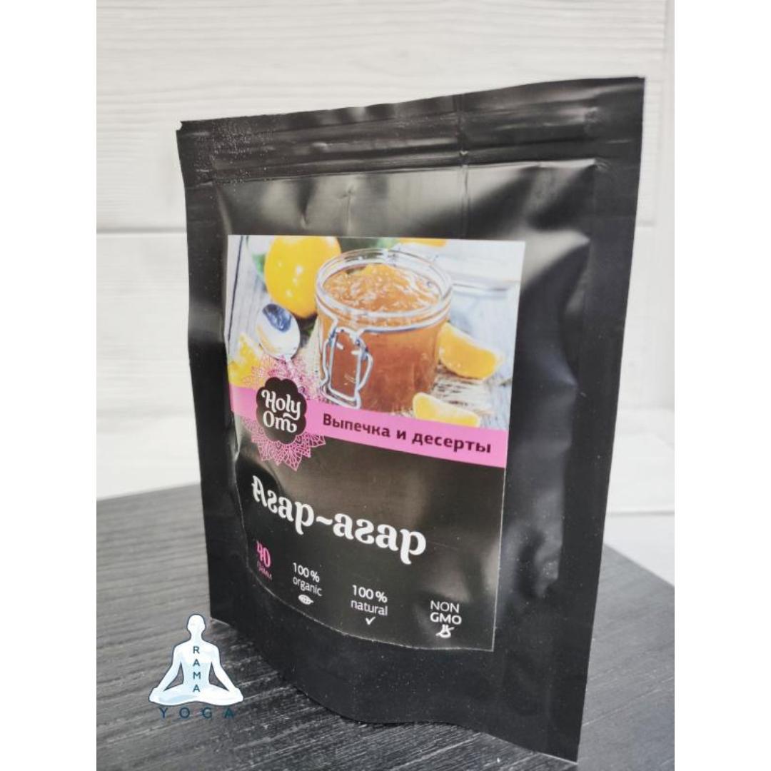Агар-агар для выпечки и десертов Holy Om (40 г)
