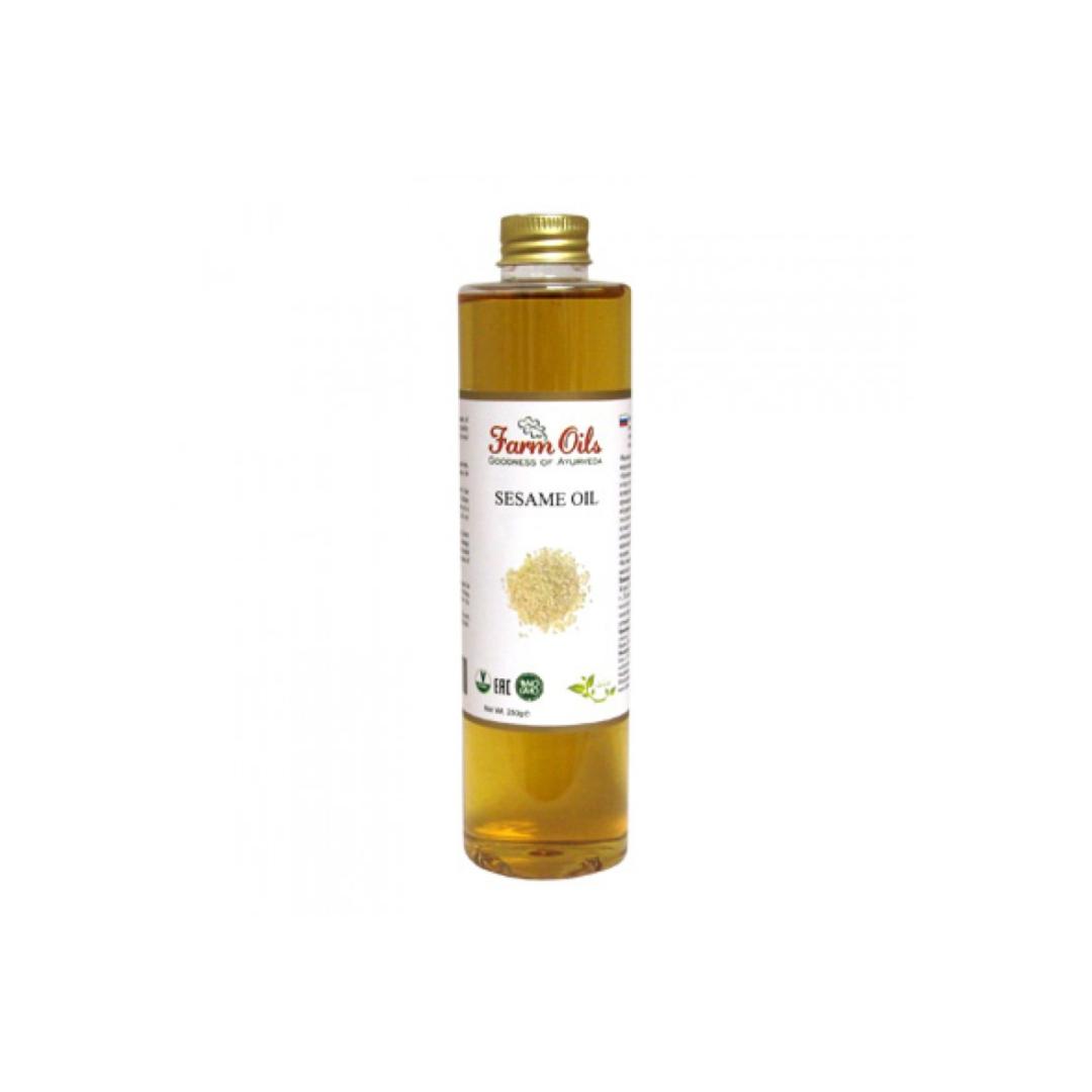 Масло кунжутное extra virgin Farm Oils (250г)